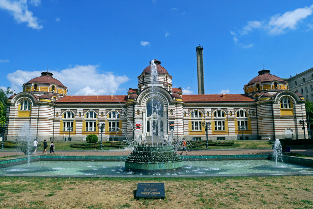 Central Mineral Baths Sofia