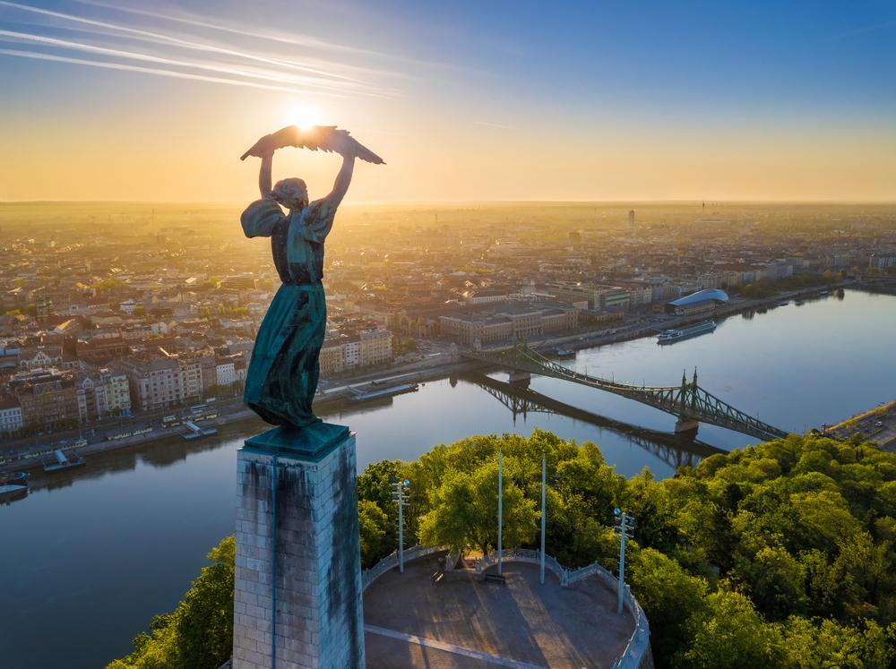 Gellért heuvel Boedapest