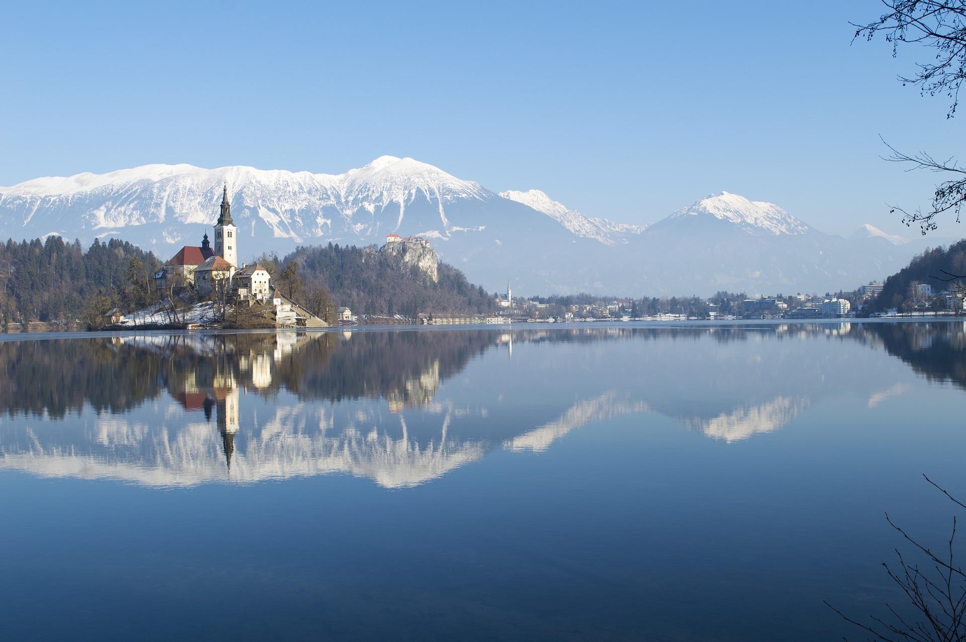 Lake Bled Slovenië