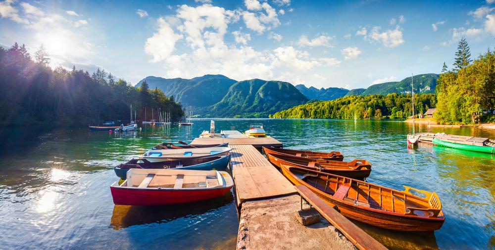 Meer van Bohinj Slovenië