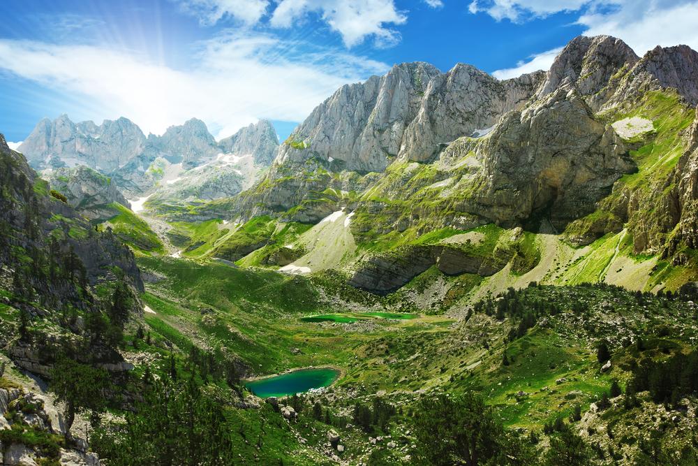 Alpen Albanië