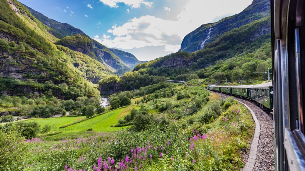Flamsbana Noorwegen