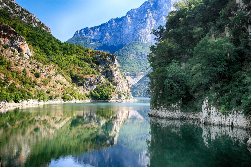 Komanmeer Albanië