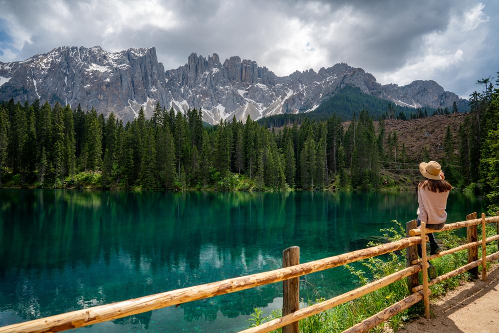 Lago Carezza Italië