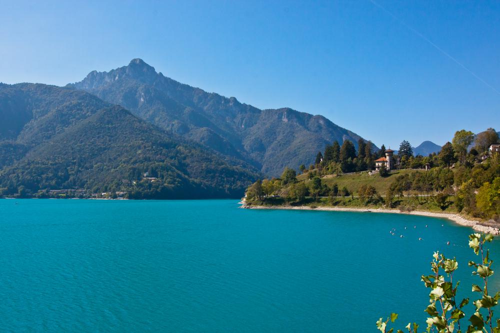 Ledro meer Italië