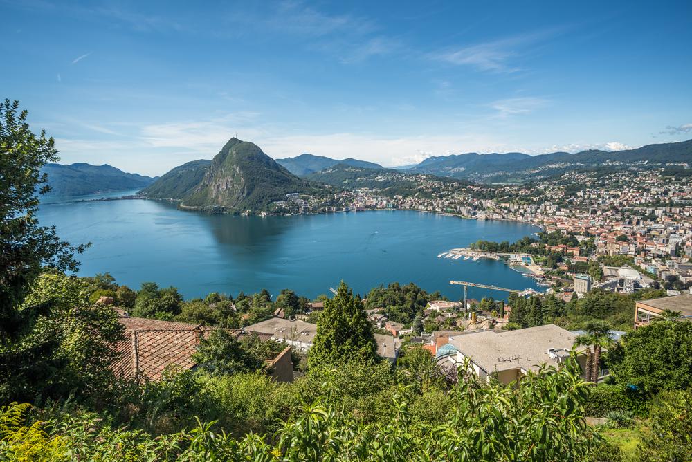 Luganomeer Italië