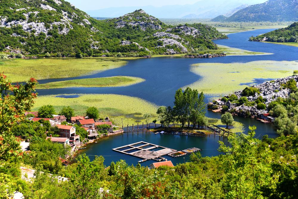 Nationale park Skadarsko Jerezo in Montenegro