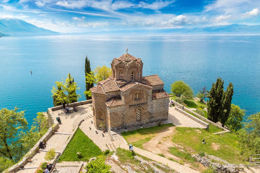 Ohrid meer Macedonië