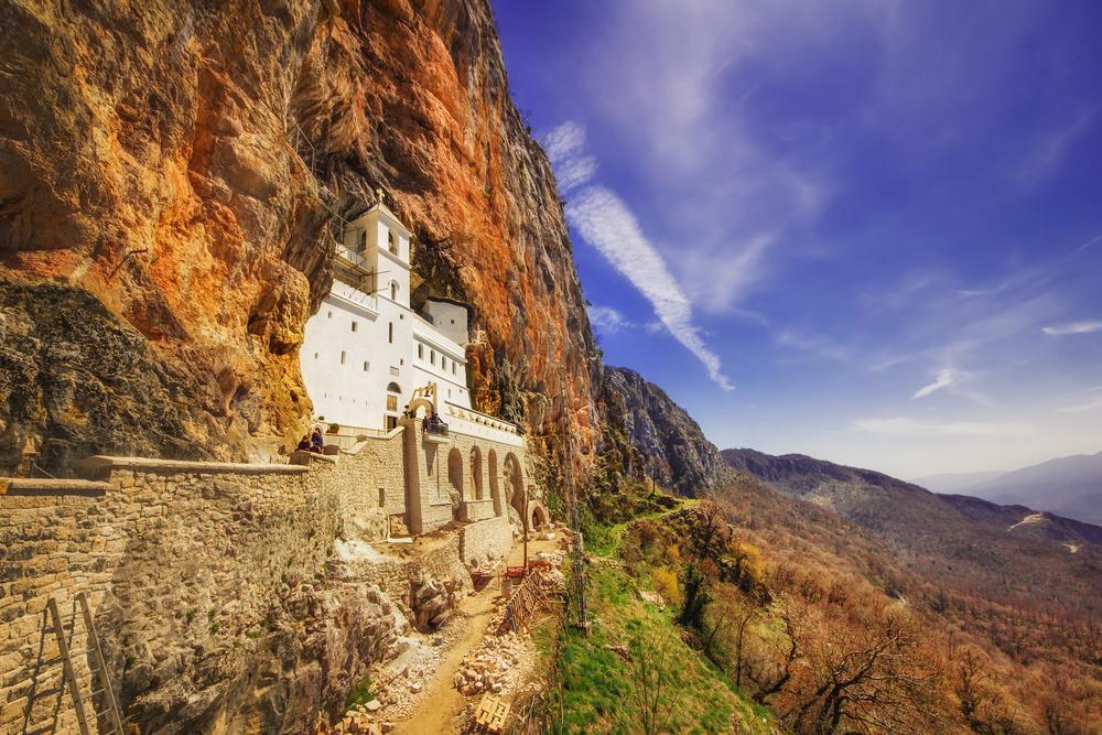 Ostrogklooster in Montenegro