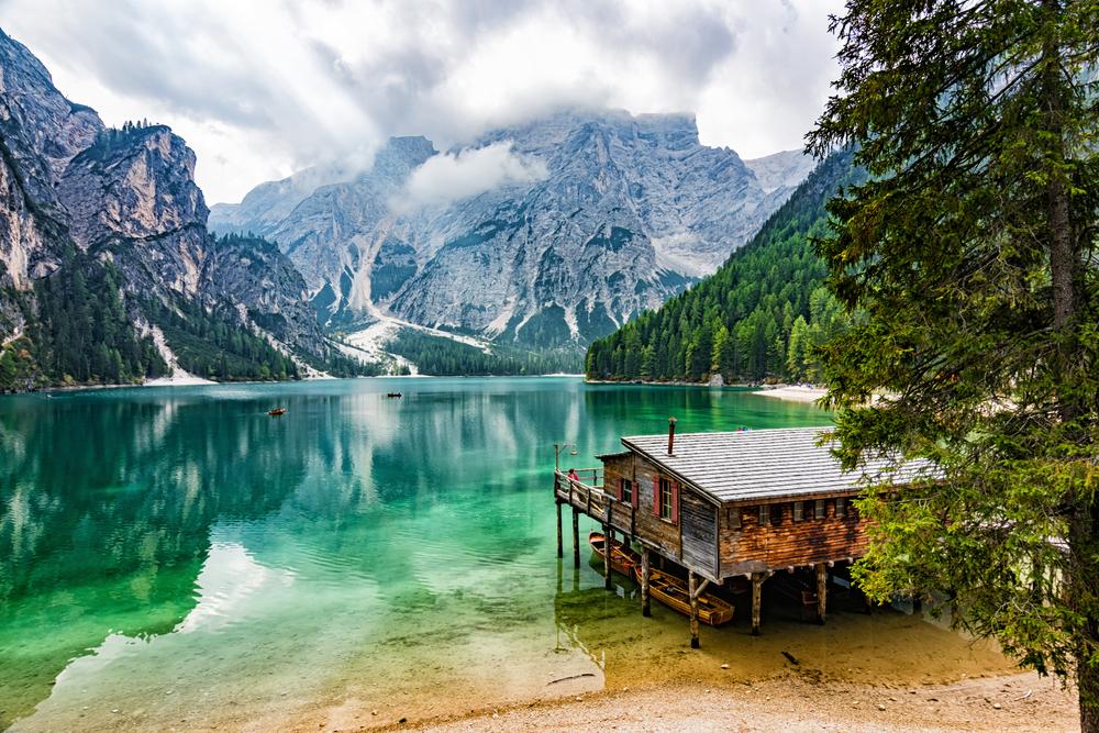 Pragser Wildsee Italië