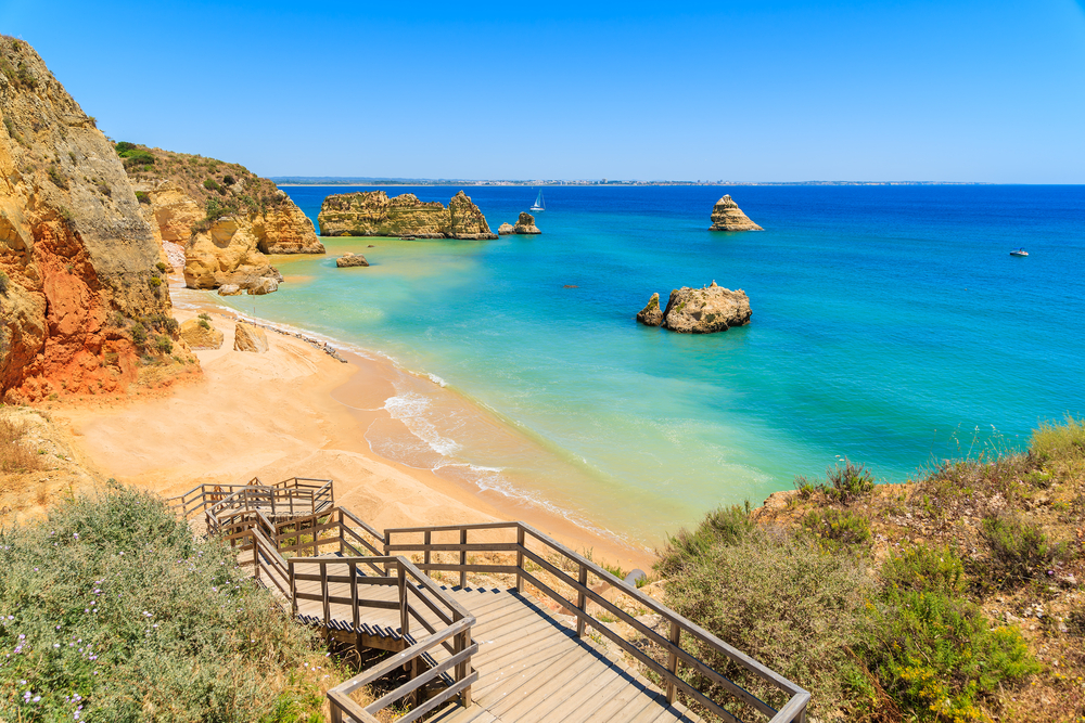 Praia Dona Ana Portugal