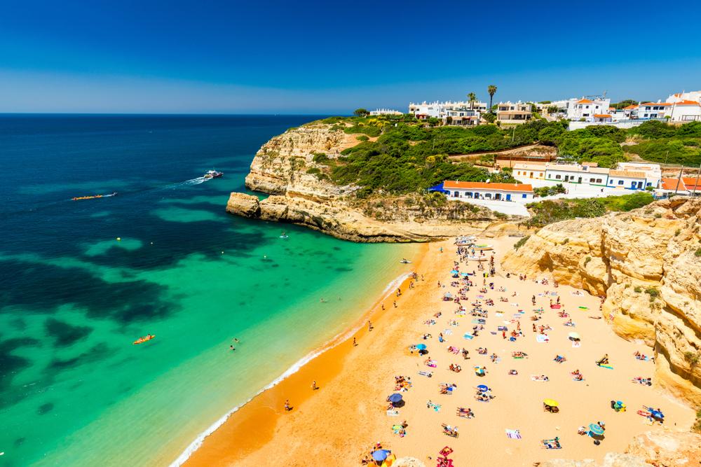 Praia de Benagil Portugal