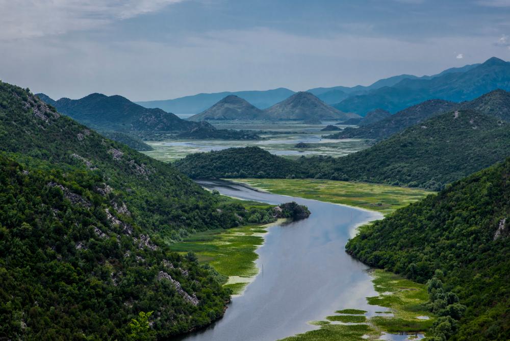 Shkodër meer Albanië