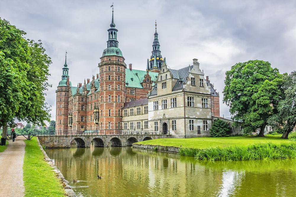 Slot Frederiksborg Denemarken