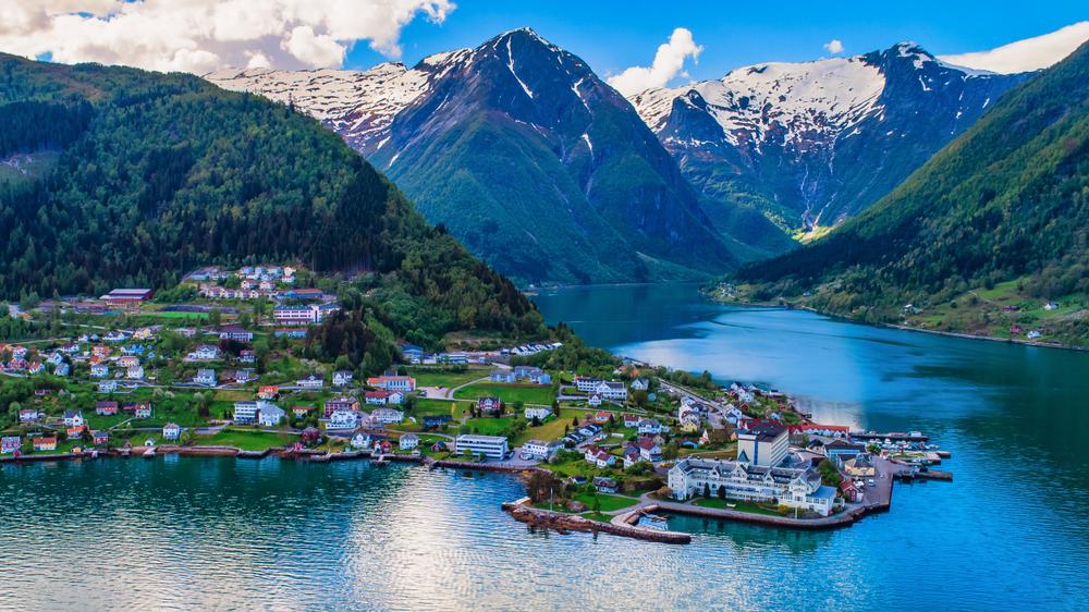 Sognefjord Noorwegen