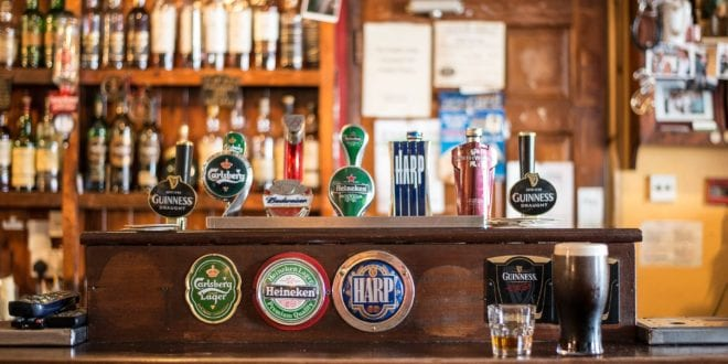 Ierse pub in Ierland