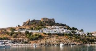 Lindos Rhodos in Griekenland