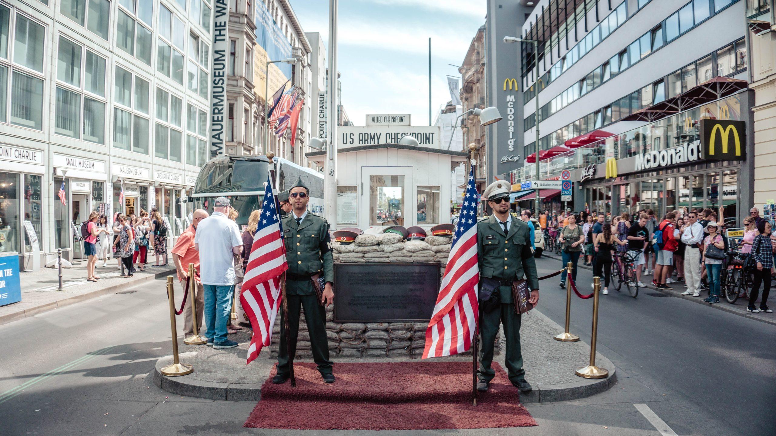 Checkpoint Charlie Berlijn Duitsland