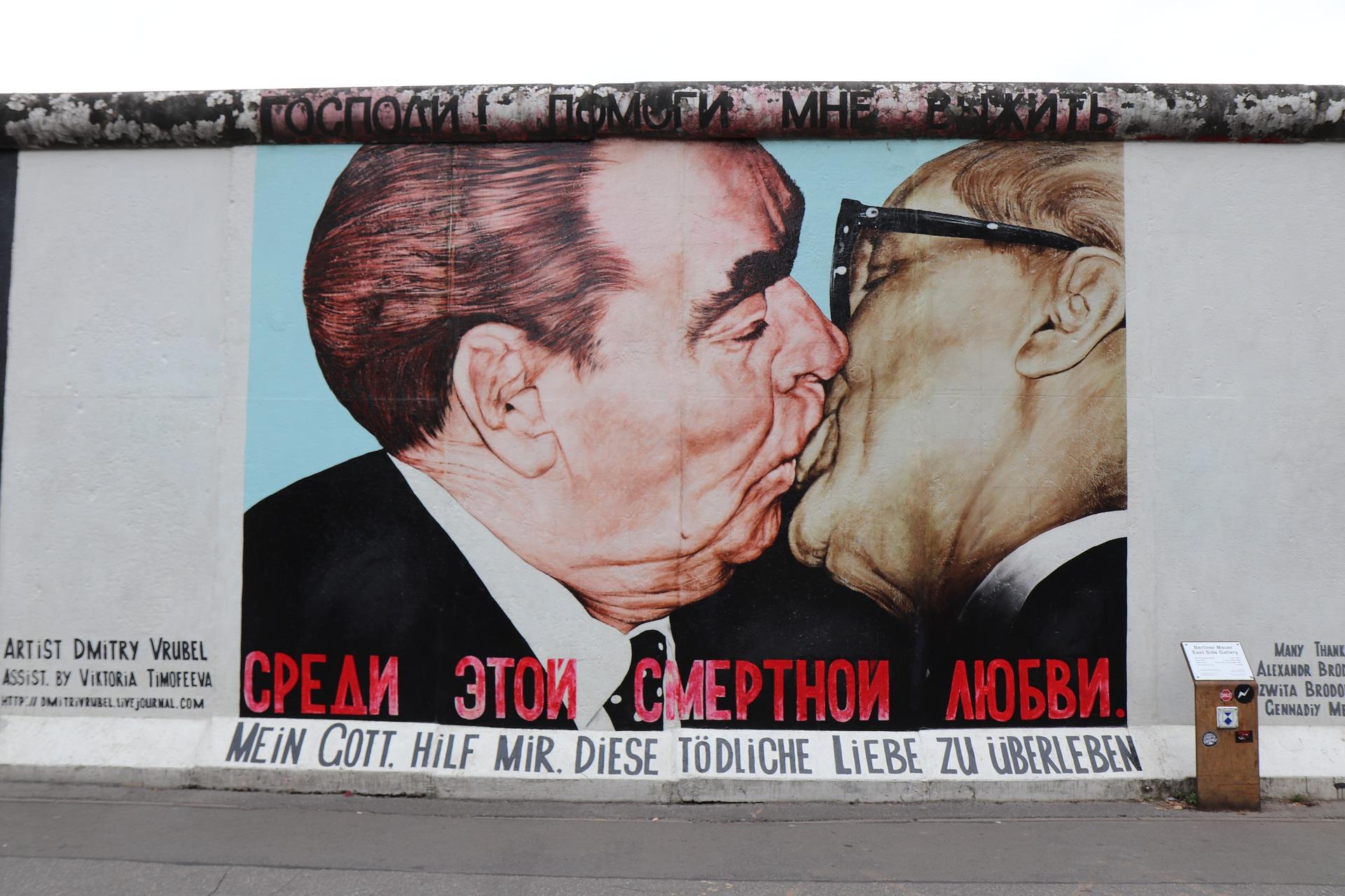 East Side Gallery Berlijn Duitsland