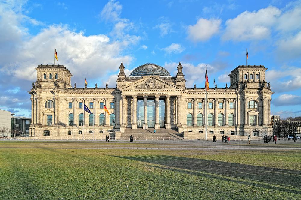 Rijksdag Berlijn Duitsland