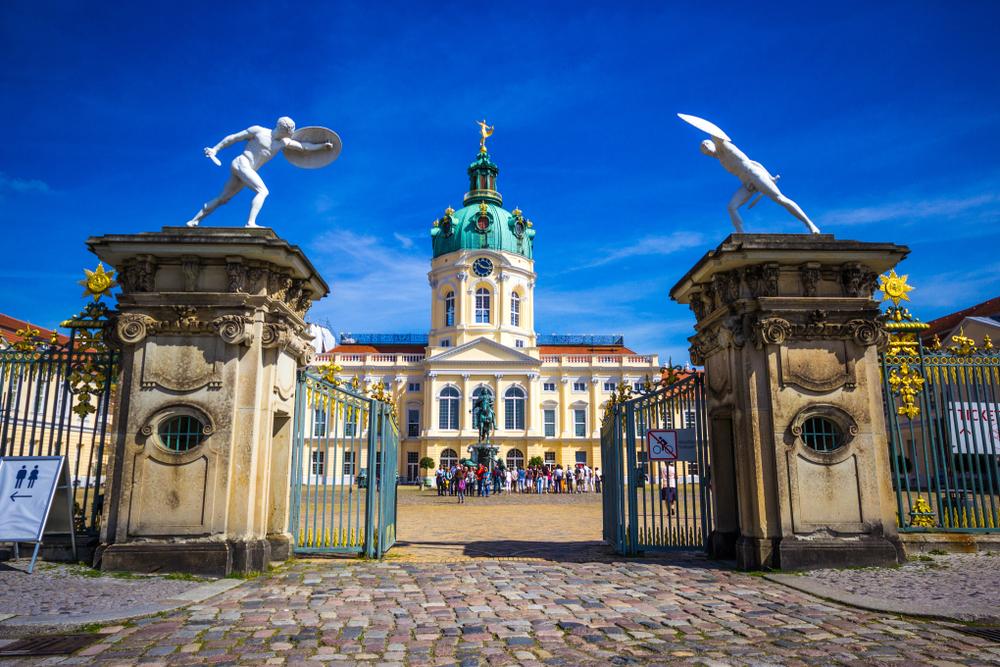 Slot Charlottenburg Berlijn Duitsland