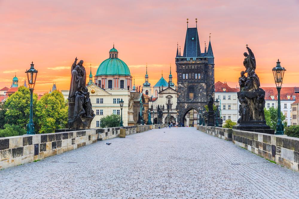 Karelsbrug Praag Tsjechië
