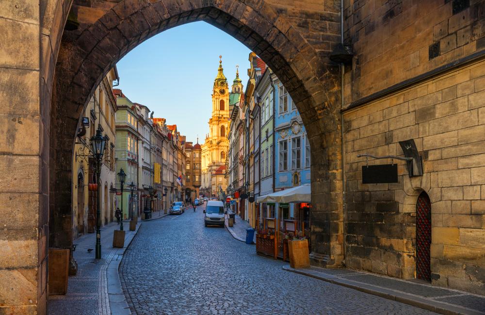 Mala Strana Praag Tsjechië