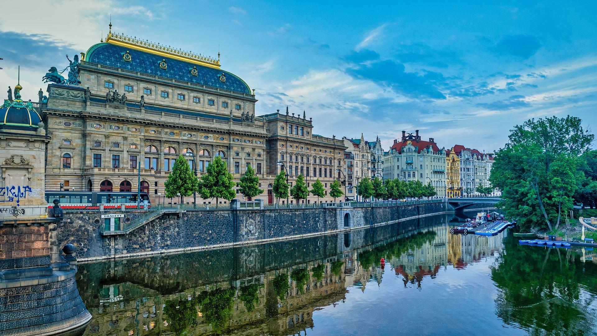 Nationaal Theater Praag Tsjechië
