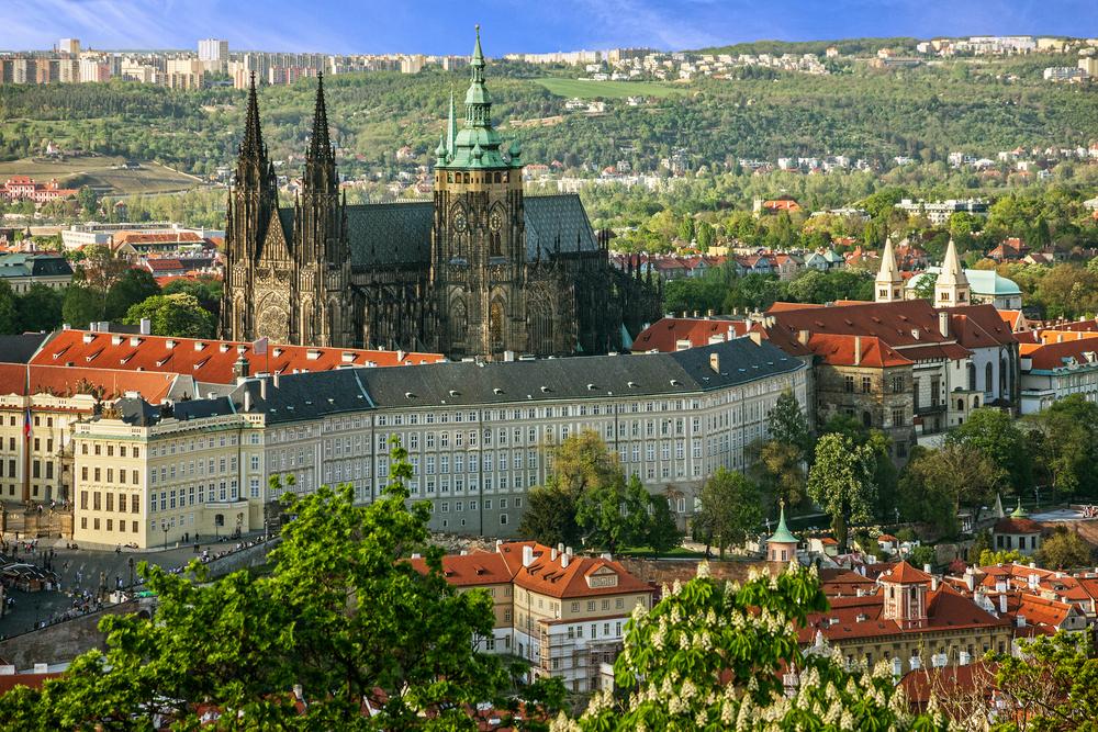 Praagse Burcht Praag Tsjechië