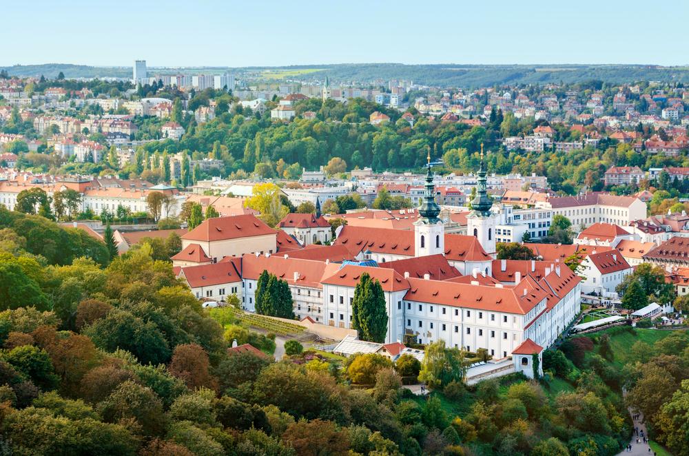 strahov klooster Praag Tsjechië