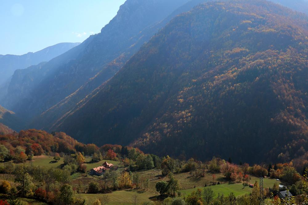 Rugova Vallei Kosovo