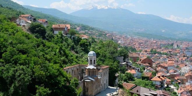 Kosovo stadsbeeld