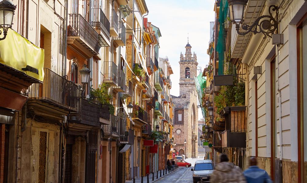 Barrio del Carmen Valencia Spanje