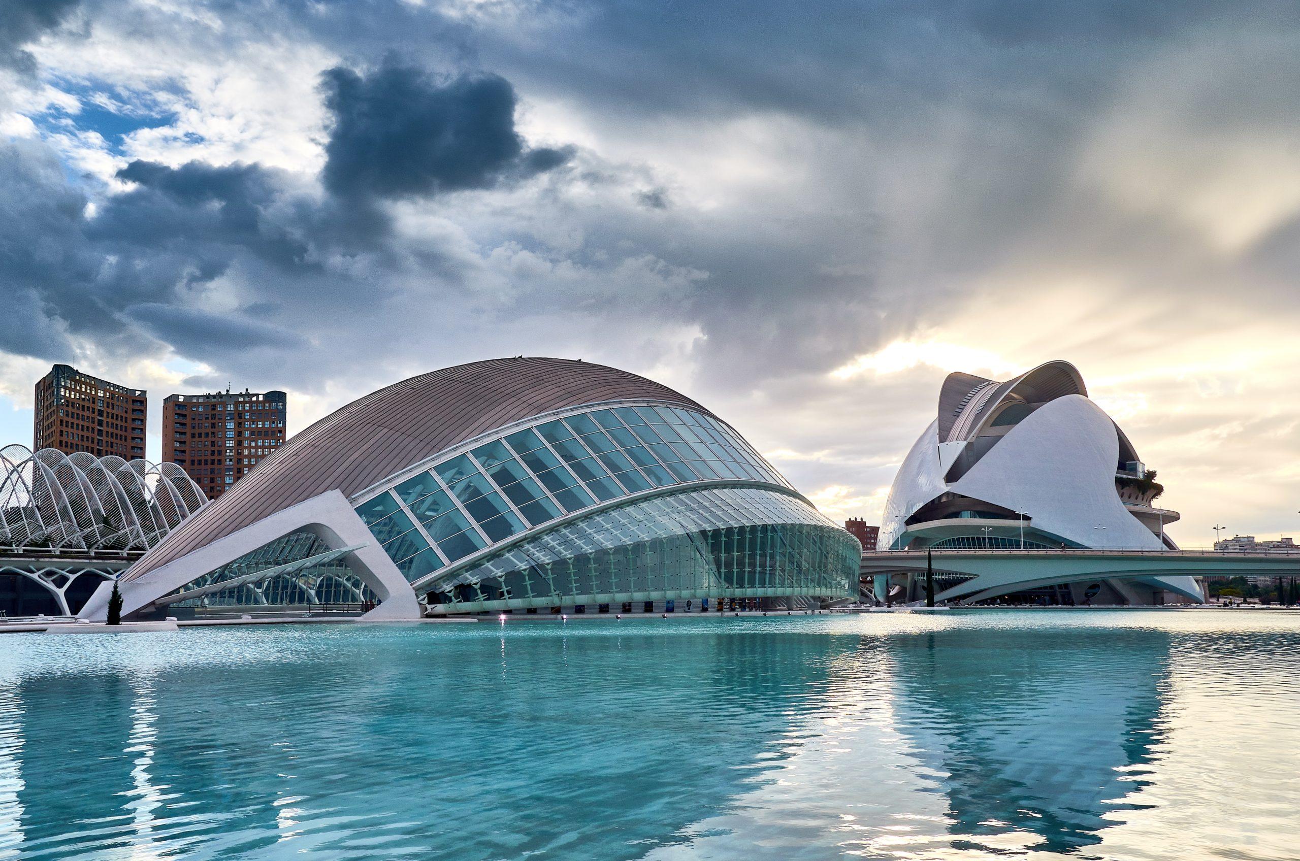 Ciudad de las Artes y las Ciencias Valencia Spanje