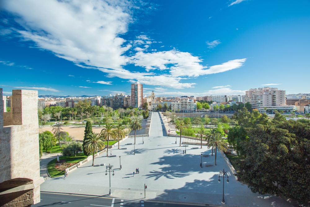 Jardín del Turia Valencia Spanje