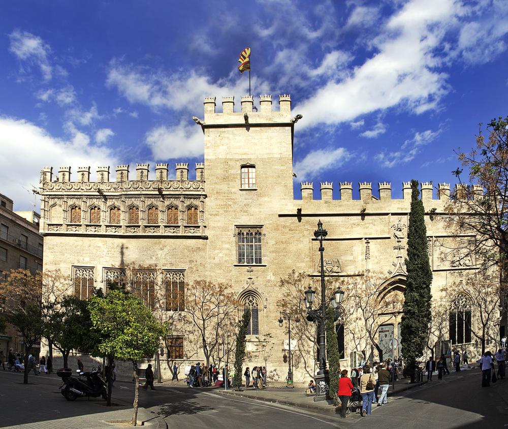 La Lonja Valencia Spanje