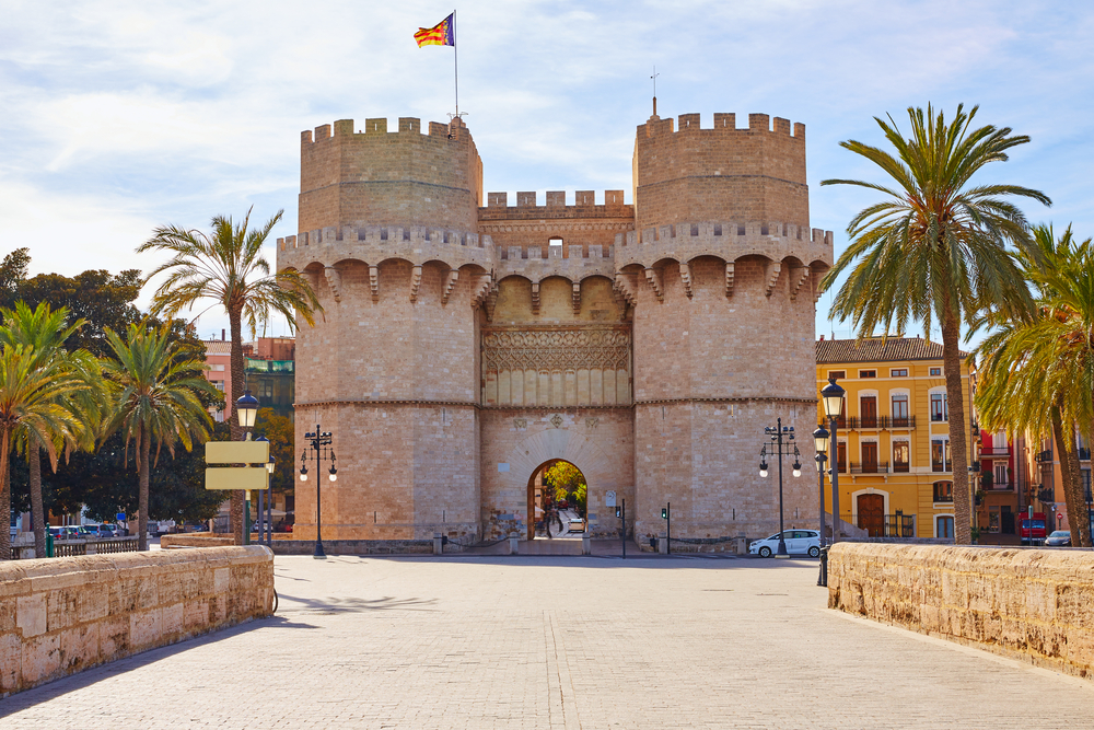 Torres de Serranos Valencia Spanje