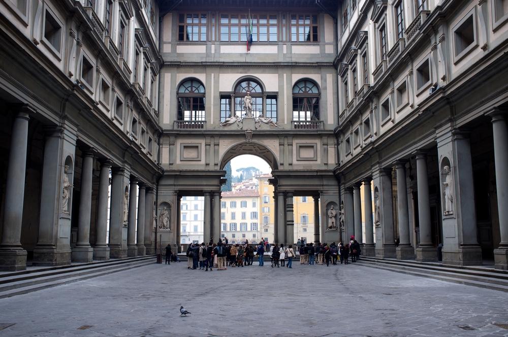 Uffizi museum Florence Italië