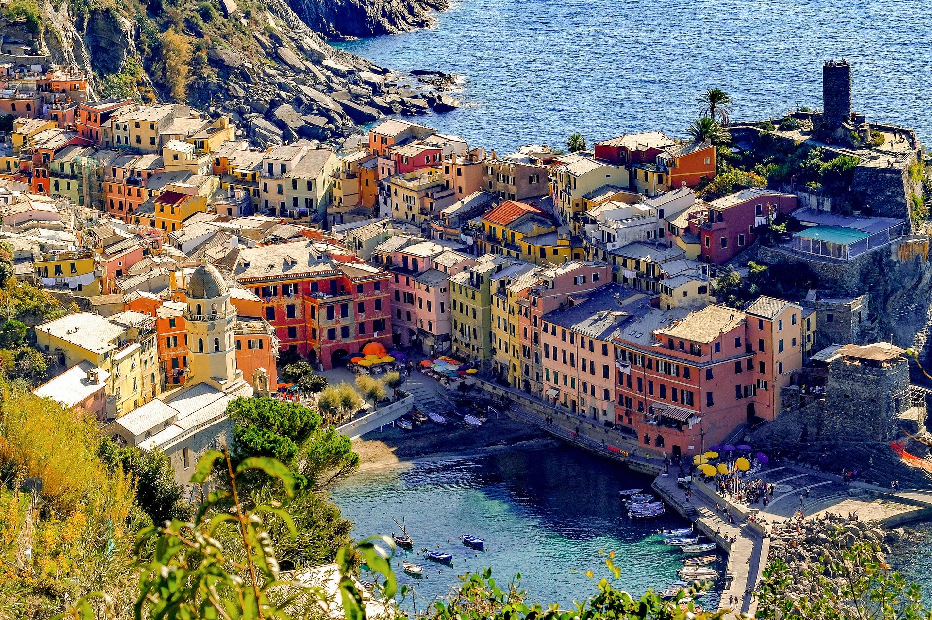 Vernazza Cinque Terre Italië
