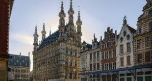 Stadhuis Leuven in België
