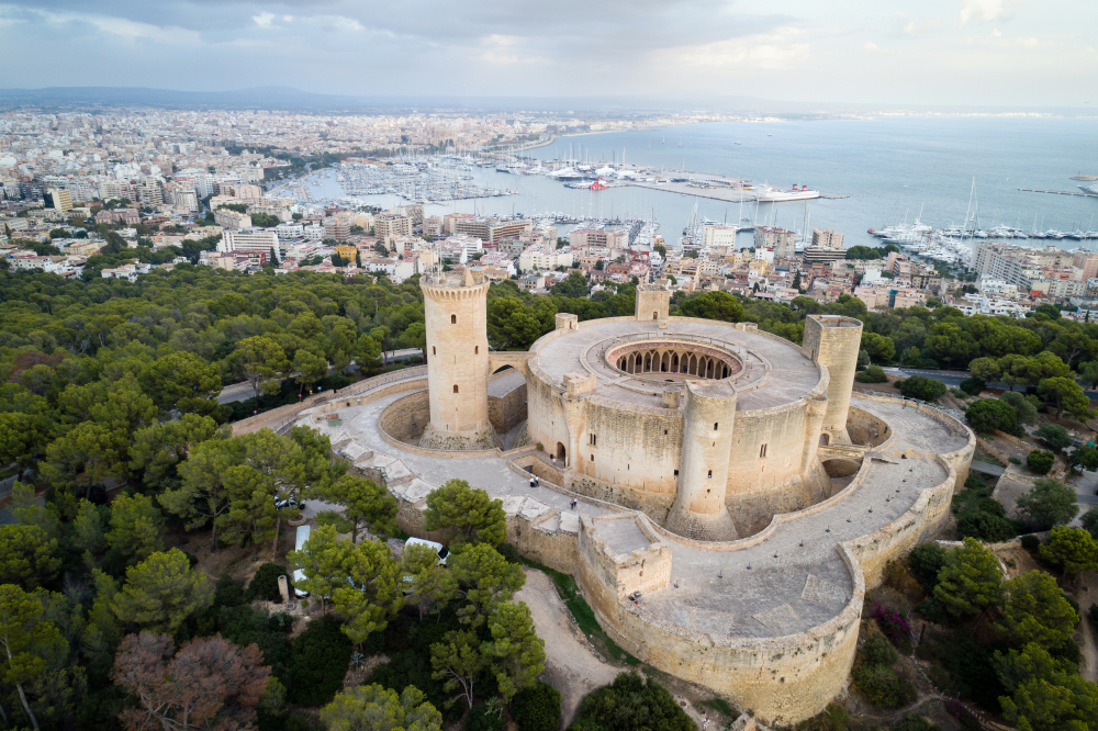 Bellver kasteel Mallorca