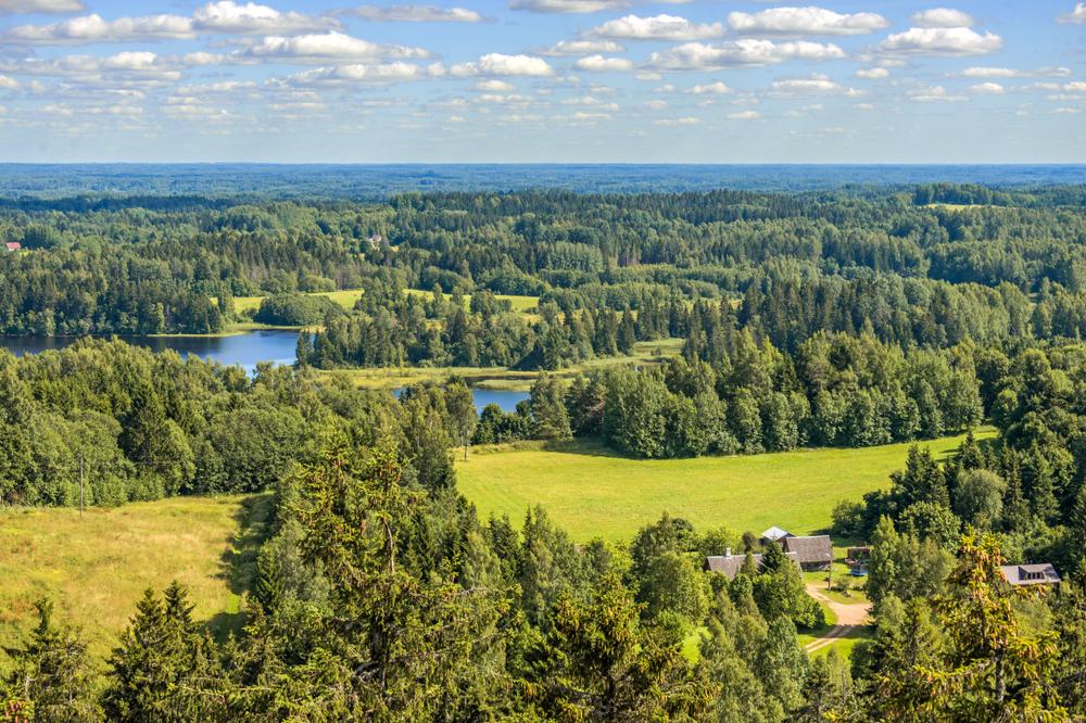 Haanja Hooglanden Estland