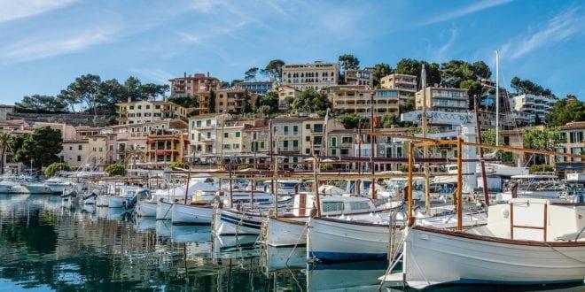 Het eiland Mallorca in Spanje