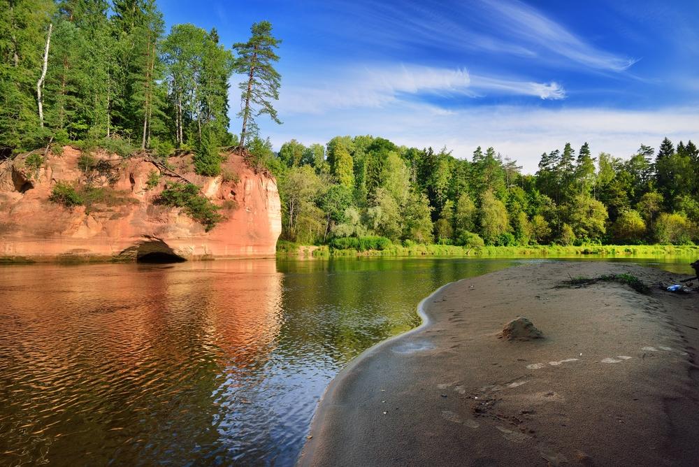 Nationaal Park Gauja Letland