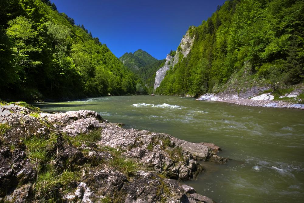 Nationaal park Pieniny Slowakije