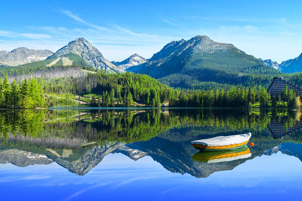 Nationaal park Tatra Slowakije