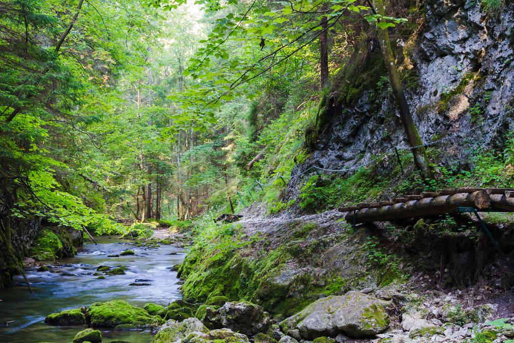 Slovensky Raj Nationaal park Slowakije