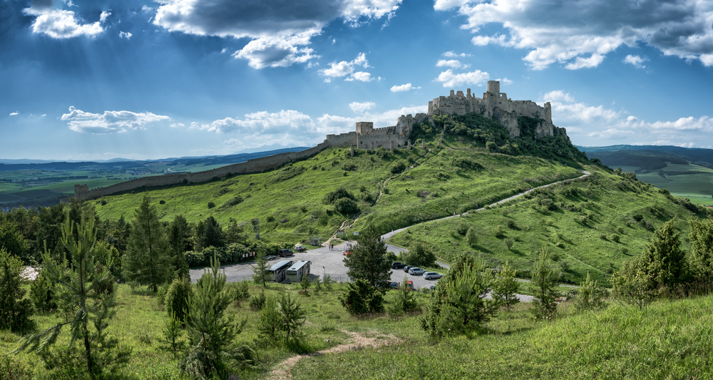 Spišský hrad Slowakije