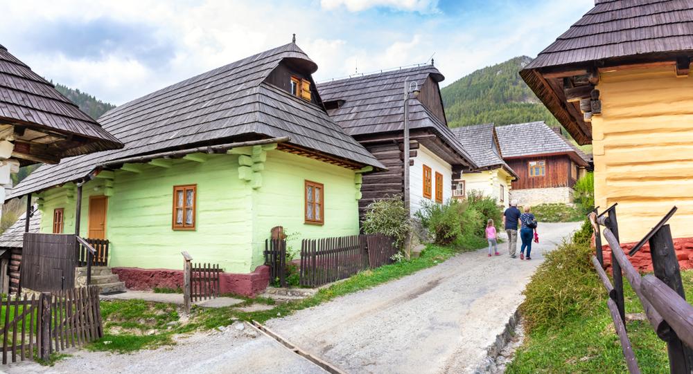 Vlkolínec Slowakije