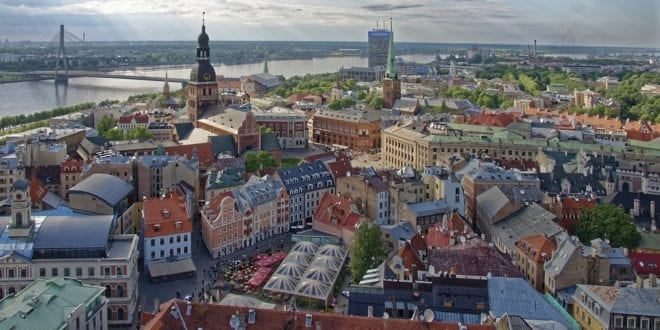 Riga in Letland
